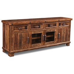 Rustic Entertainment Centers And Tv Stands by Crafters and Weavers