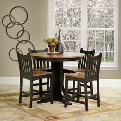 Round Wood Dining Table Sets