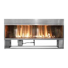 Firegear OFP-60LTFS-N Outdoor Linear Fireplace -NG