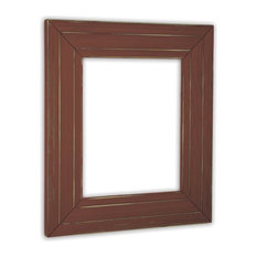 "Ponderosa Rust Picture Frame, Solid Wood, 4""x6"""
