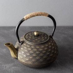 - Osaka - Japanese Cast Iron Teapot - Kettles