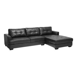 Mistral 6 Piece Reclining Sectional In Light Brown