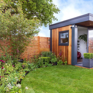 Design ideas for a contemporary garden shed and building in London.