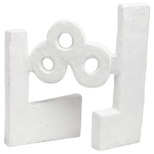 Water White Oxide Sculpture