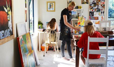 Creatives at Home: Jo Kaiser in Her Laid-Back Art Studio