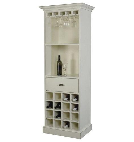 Weinregal Antik Weiss - Produkte