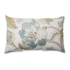 Pillow Perfect Inc - Finders Keepers Peacock Rectangular Throw Pillow - Decorative Pillows