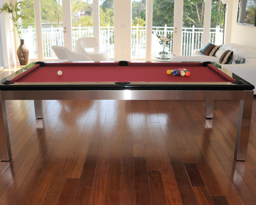 Tribeca Hollywood Stainless Pool Table Ocean View   Dining Tables
