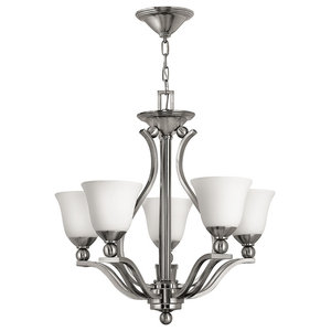 Bolla Modern Chandelier, 5 Lights