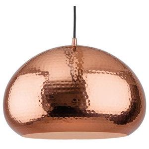 Assam Hammered Pendant, Copper