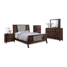 Attrayant CTC Furniture Inc.   Gavin 5 Piece Light Mocha Bedroom Collection, King