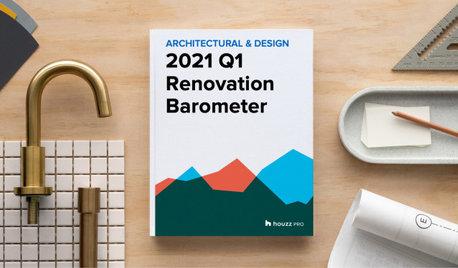 2021Q1 Houzz Renovation Barometer - Architectural & Design Sector