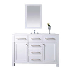 Dawn Vanity Set, Pure White