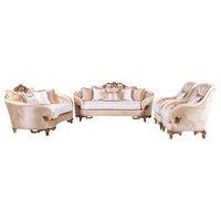 Rosabella Luxury VIctorian Sofa 4-Piece Set