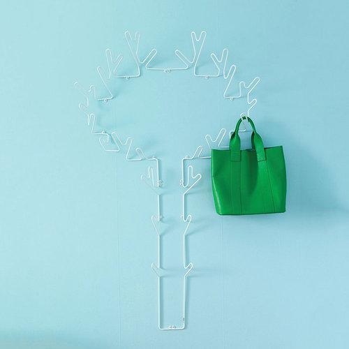 Tree Hanger Left Hängare, Vit - Display & væghylder