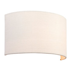 Endon Obi Wall Light, White