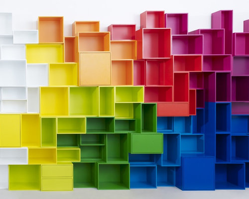 Bookshelf in various colors - Display And Wall Shelves