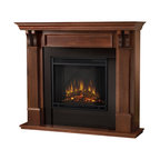 Real Flame Ashley Electric Fireplace in Mahogany