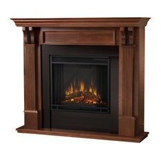 Ashley Indoor  Electric Fireplace in Mahogany