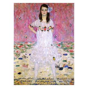 "Gustav Klimt Portrait of Meda Primavesi 21""x28"" Premium Canvas Print"