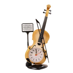 Creative Alarm Clock, Fashion Wake Up Alarm Clock, Violin 01
