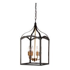 50 most popular black chandeliers for 2018 houzz dainolite ltd windham 4 light chandelier matte black chandeliers aloadofball Choice Image