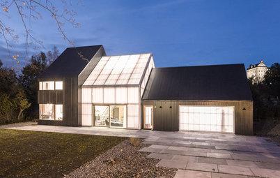 Houzz in Germania: Costruire una Villa con Materiali Industriali
