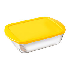 Pyrex 3-Piece Cook and Store Storage Set, Yellow
