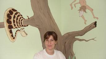 Jungle Book Mural