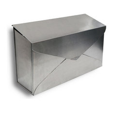 NACH Envelope Wall Mounted Mailbox, Stainless Steel