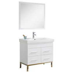 Fancy Contemporary Bathroom Vanities And Sink Consoles by Fine Fixtures