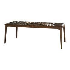 Kincaid Cherry Park Solid Wood Rectangular Leg Table, 63-056