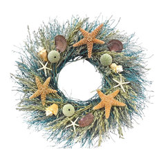 Botanical Splash - Starfish Ocean Wreath, Small - Wreaths and Garlands