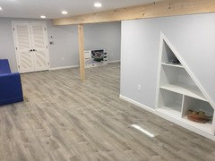 LifeProof vinyl flooring: 1) GREY Sterling Oak vs 2) WHITE ...