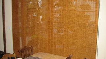 和室に似合うカーテン