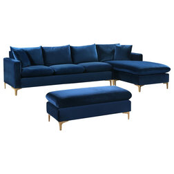 Contemporary Living Room Furniture Sets by Meridian Furniture