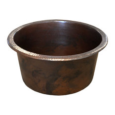 Diego Bar and Prep Sink, Antique Copper