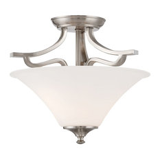 Thomas Lighting Treme 2-Light Ceiling Lamp TC0020217 - Brushed Nickel