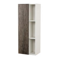 Sangallo Wood Grain Linen Cabinet, Stargazer