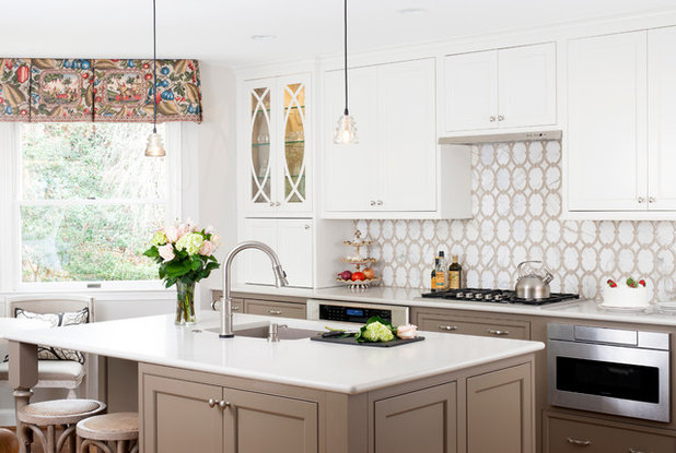 Contemporary  by Melissa Cooley, UDCP / Case Design/Remodeling Inc.