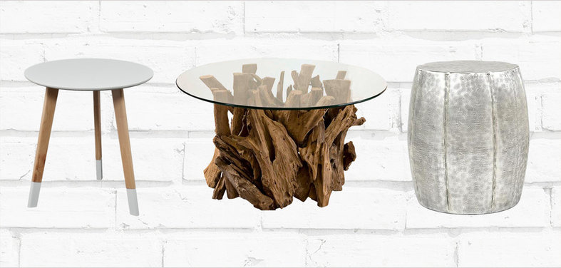 Petite table design finest modern wood circle coffee for Petite table ronde en bois