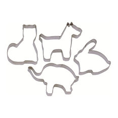 Tala Stainless Steel Animal Shaped Cutters, 4-Piece Set
