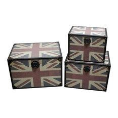 Britannia Trunks - Set of 3