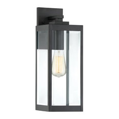 Quoizel Westover Outdoor Wall Light, Earth Black
