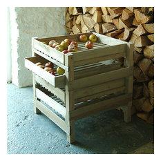 Traditional Garden Storage Boxes