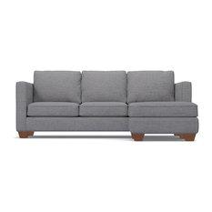 Apt2B - Catalina Reversible Chaise Sofa, Mountain Gray - Sectional Sofas