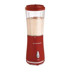 175-Watt Single Serve Personal Blender In Red With Clear Bpa Free Jar