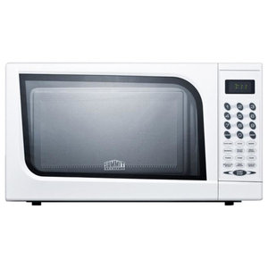 Mid-Sized Microwave Oven With a Fully White Finish SM901WH