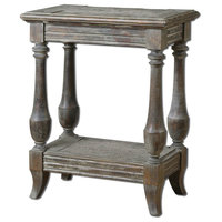 Uttermost 24295 Uttermost Mardonio Distressed Side Table