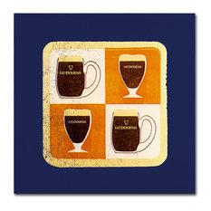 """Guinness Brewery 'Guinness II' Canvas Art, 18""""x18"""""""